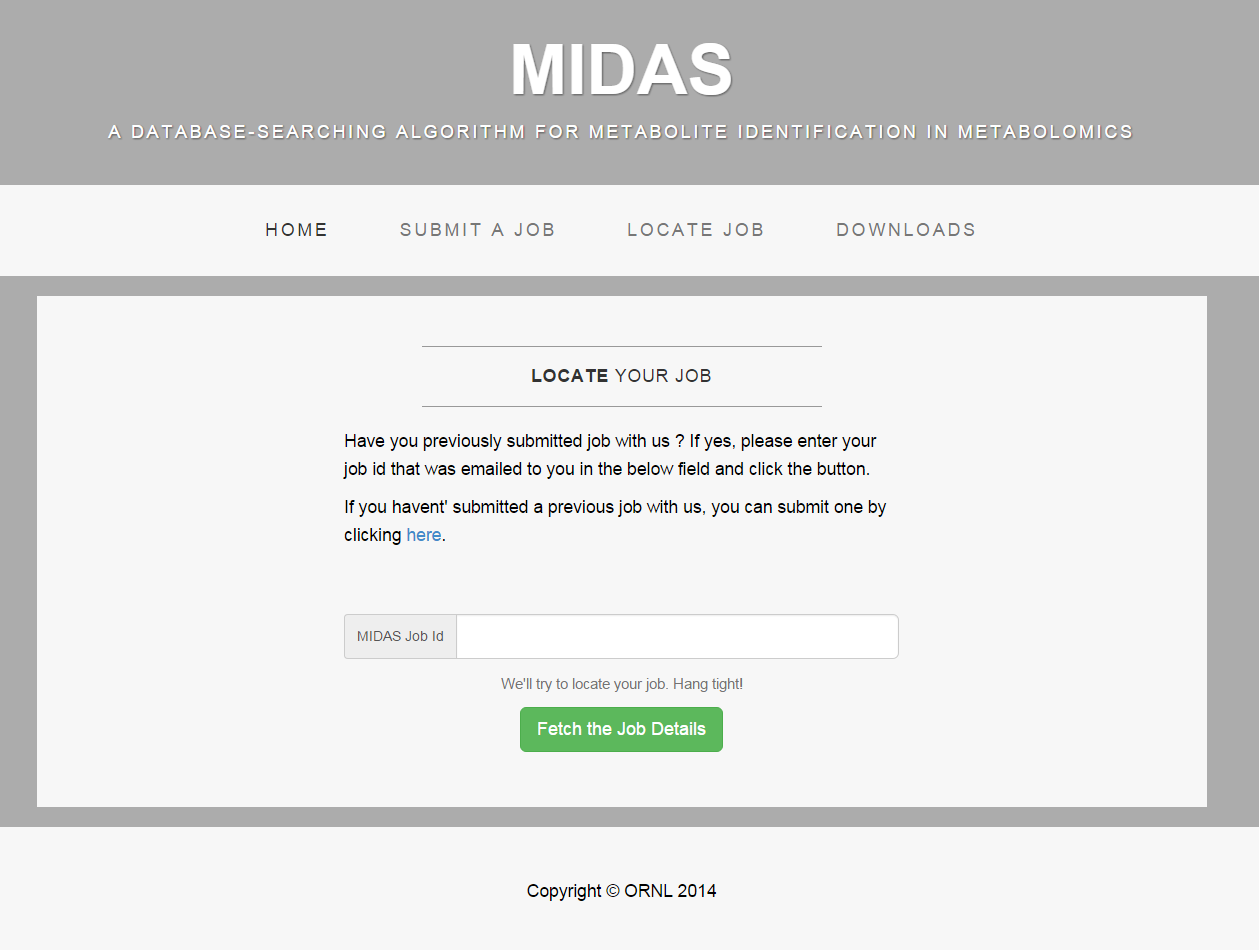 midas screenshot